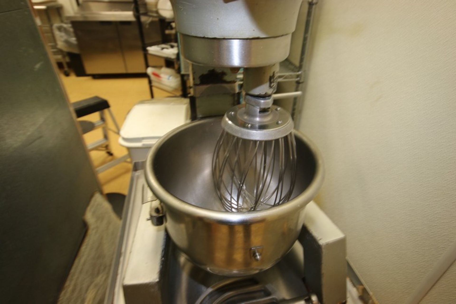 Hobart Mixer, M/N A300F, S/N 11-306-736, 115 Volts, 1 Phase, with S/S Mixing Bowl, S/S Whip & Flat - Image 5 of 7