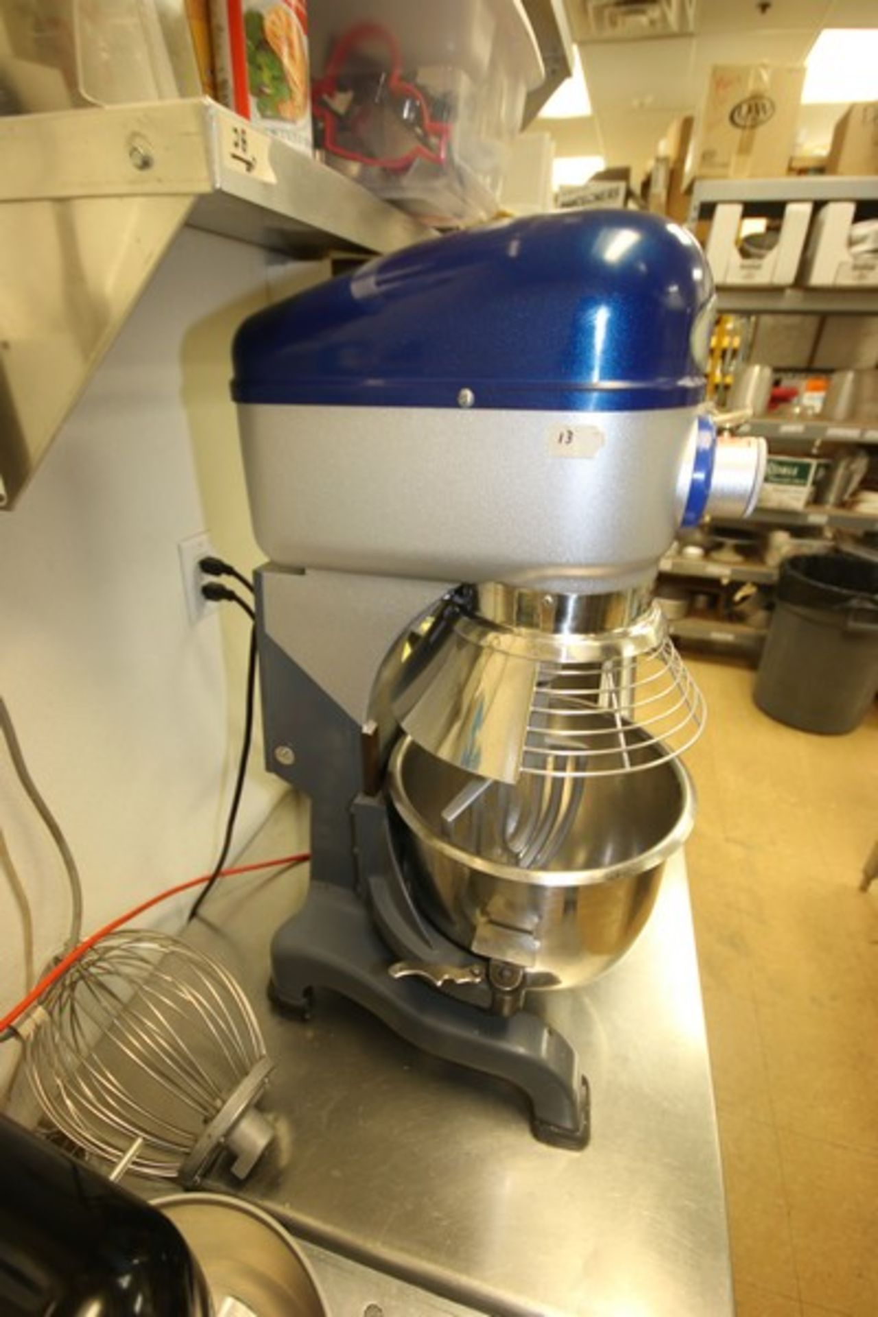 Vollrath Mixer, M/N MIX1020, S/N B42-00181983-0210, with 1/2 hp Motor, 110 Volts, 1 Phase, with S/ - Image 6 of 9