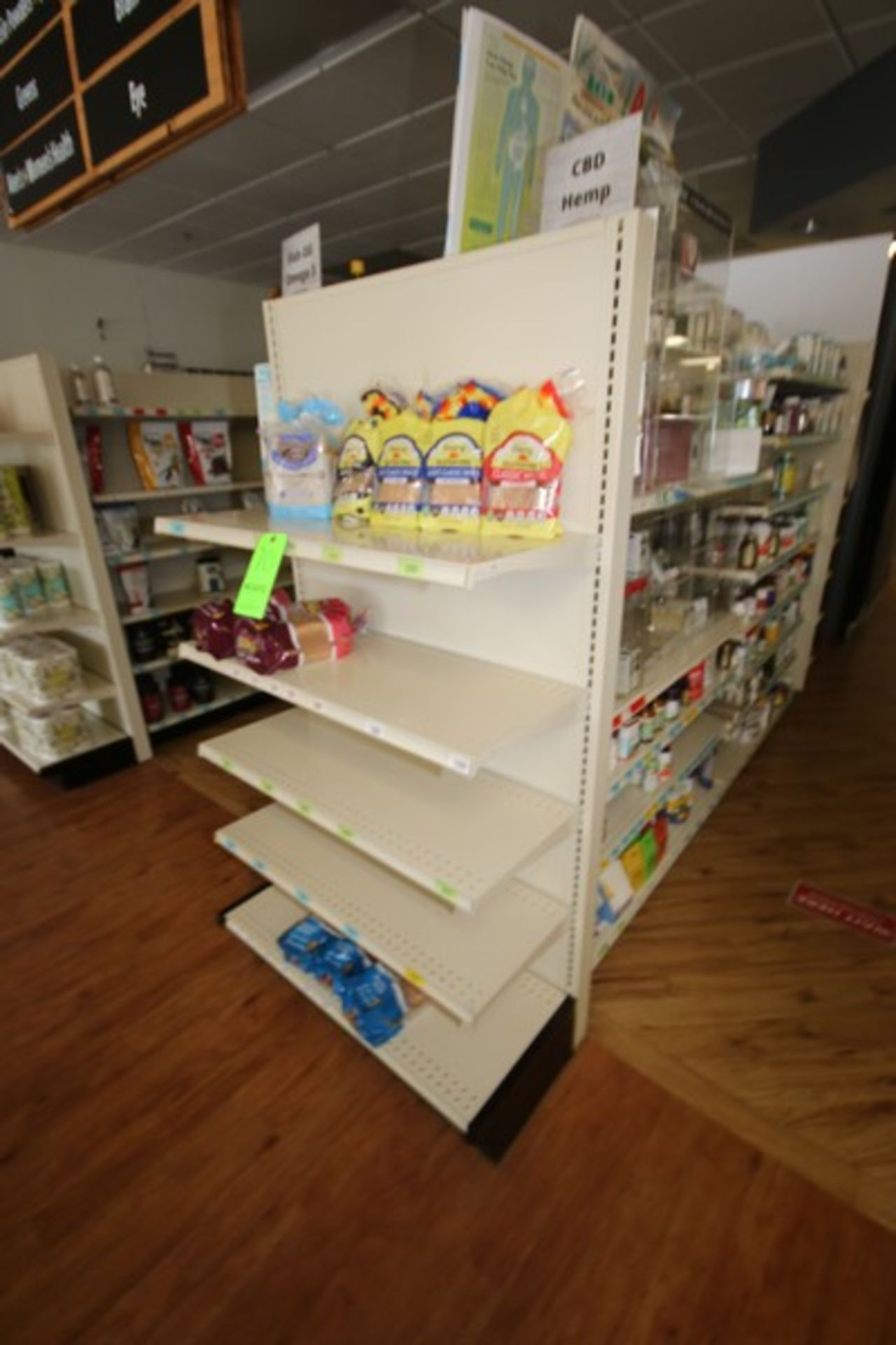 """End Shelf, with 5-Shelf Design, Overall Dims.: Aprox. 36"""" L x 18"""" W x 72"""" H (Located in McMurray, - Image 2 of 2"""