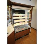 Federal Industries Open Refrigerated Display Case, M/N RSSM4788SC, with 4-Internal Shelves,