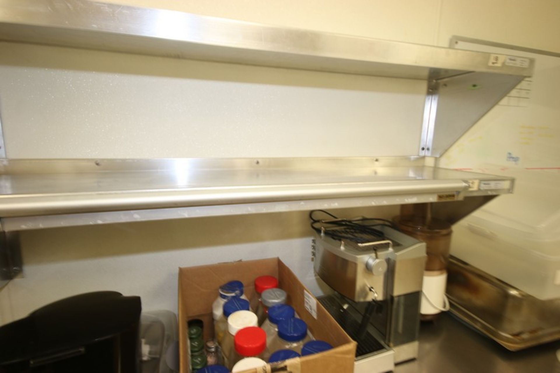 """Win-Holt S/S Shelves, Shelf Dims.: Aprox. 48"""" L x 12"""" W, Wall Mounted (Located in McMurray, PA) ( - Image 4 of 4"""
