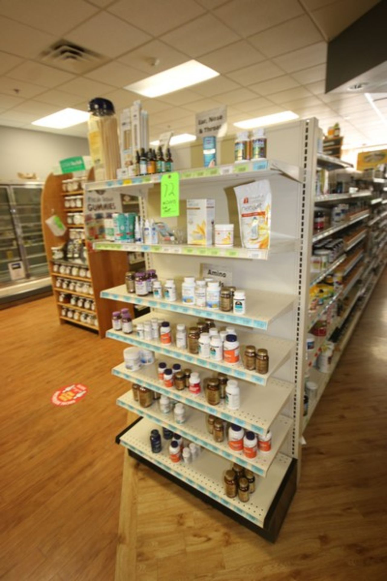 """End Shelf, with 7-Shelf Design, Overall Dims.: Aprox. 36"""" L x 18"""" W x 72"""" H (Located in McMurray, - Image 2 of 2"""