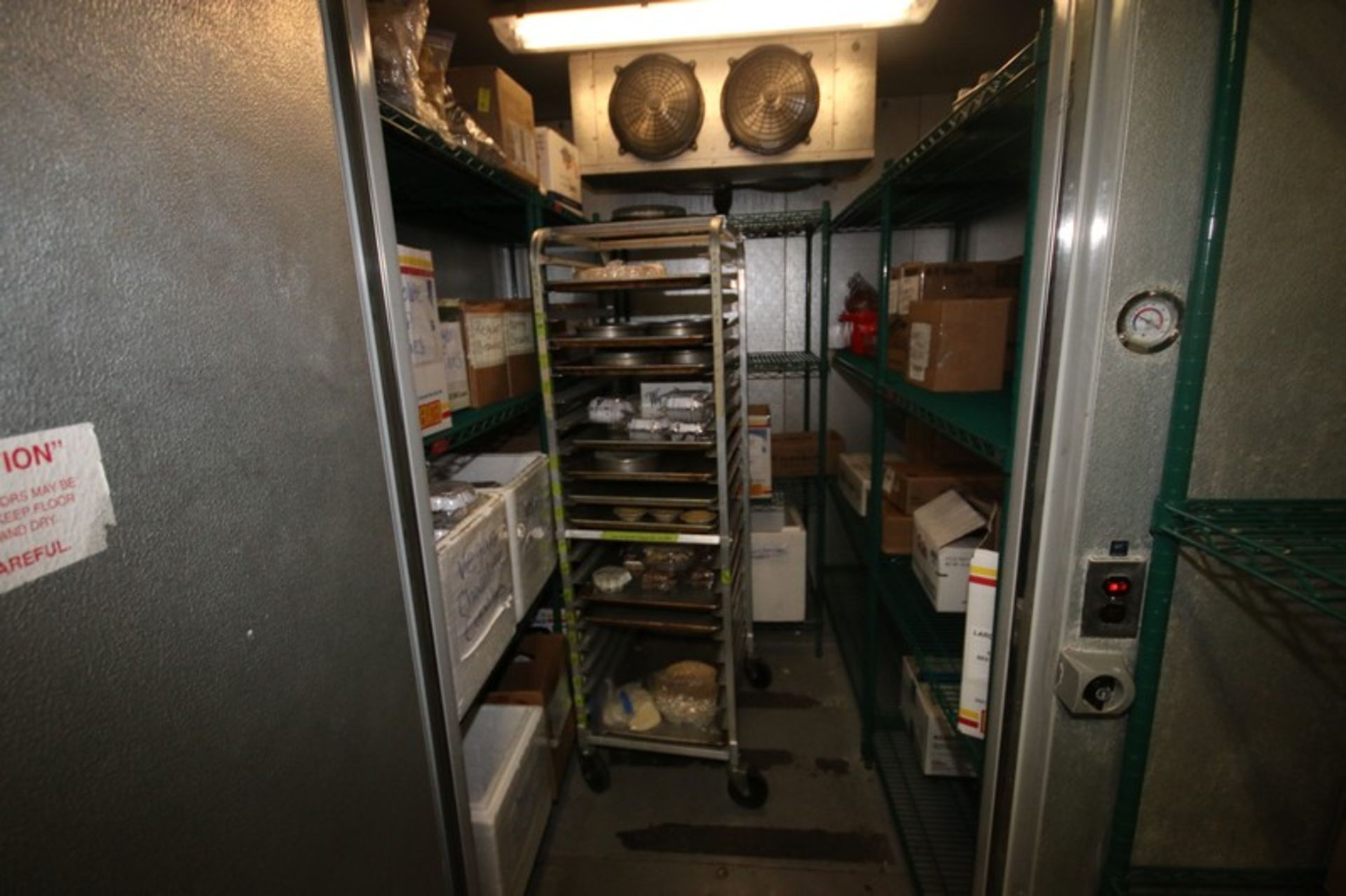 Harford Dual Compartment Walk-In Cooler & Freezer, S/N 410021576 & 410021576, Compartment Sizes: - Image 10 of 18