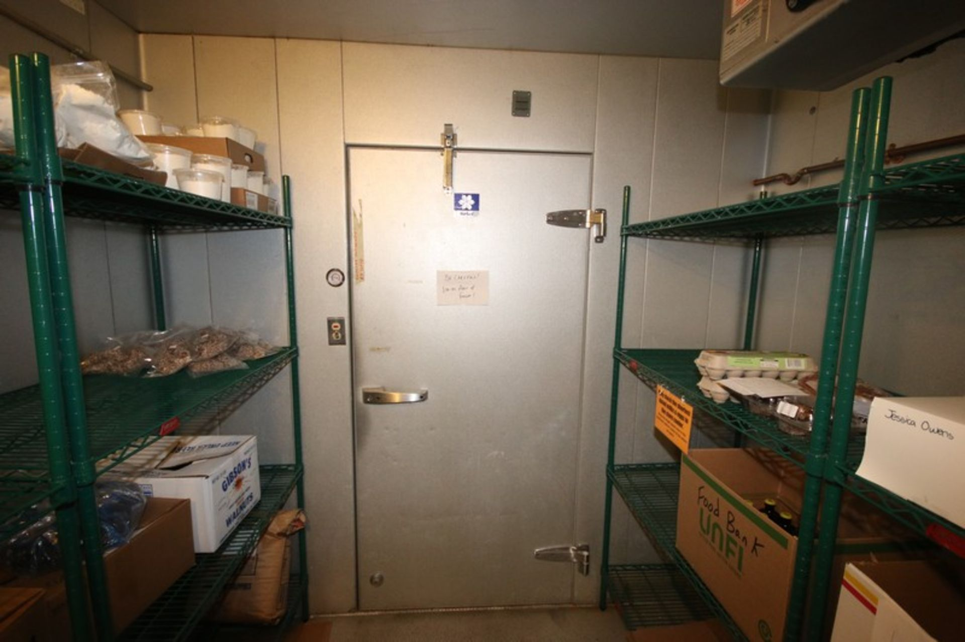 Harford Dual Compartment Walk-In Cooler & Freezer, M/N DR36788W5H8D, S/N XW703D9, Compartment Sizes: - Image 9 of 16