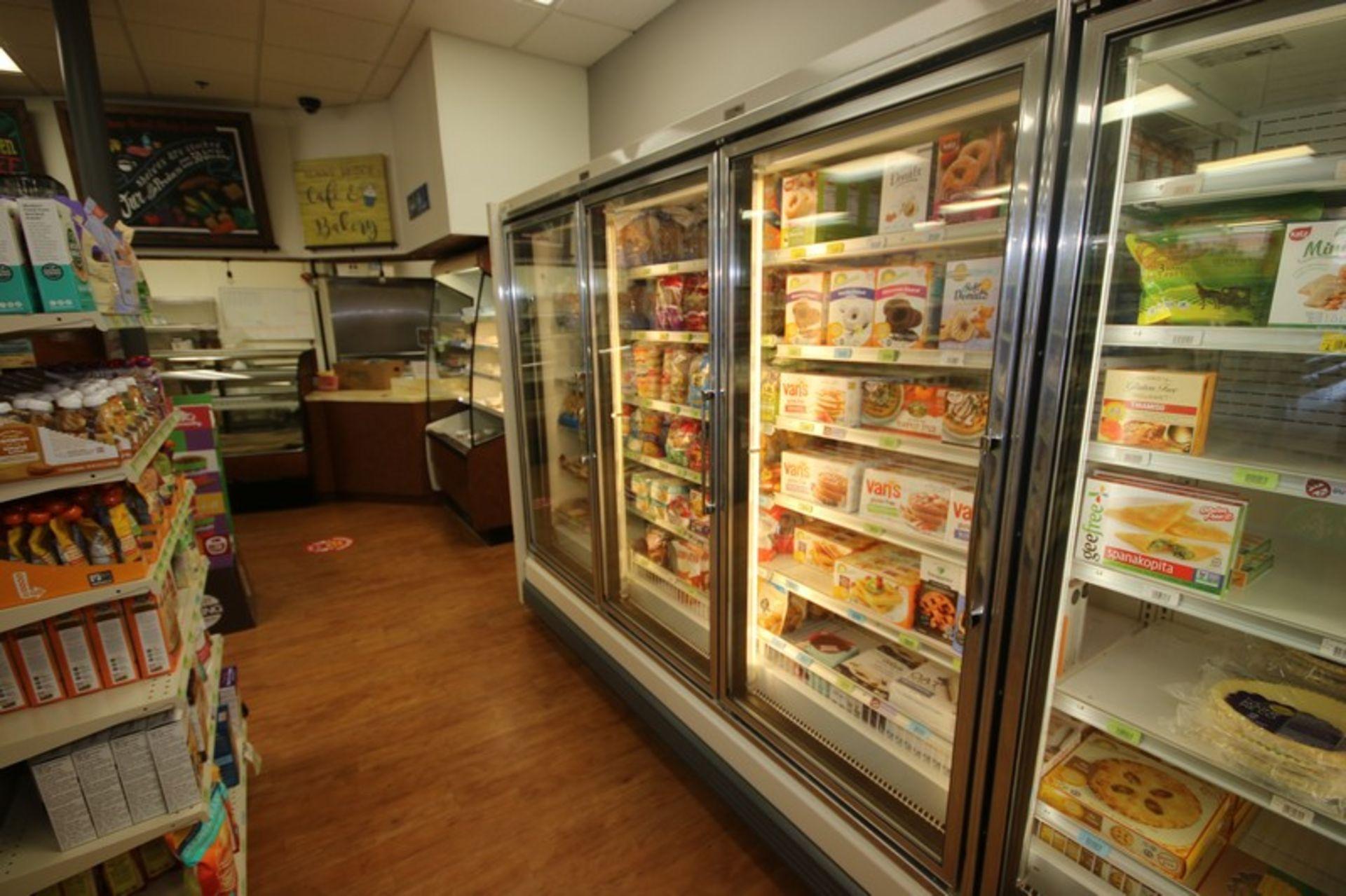 Hussman 3-Door Refrigeration Unit, M/N GEL-3, S/N 02BO1278-350, 115/208-230 Volts, 1 Phase,