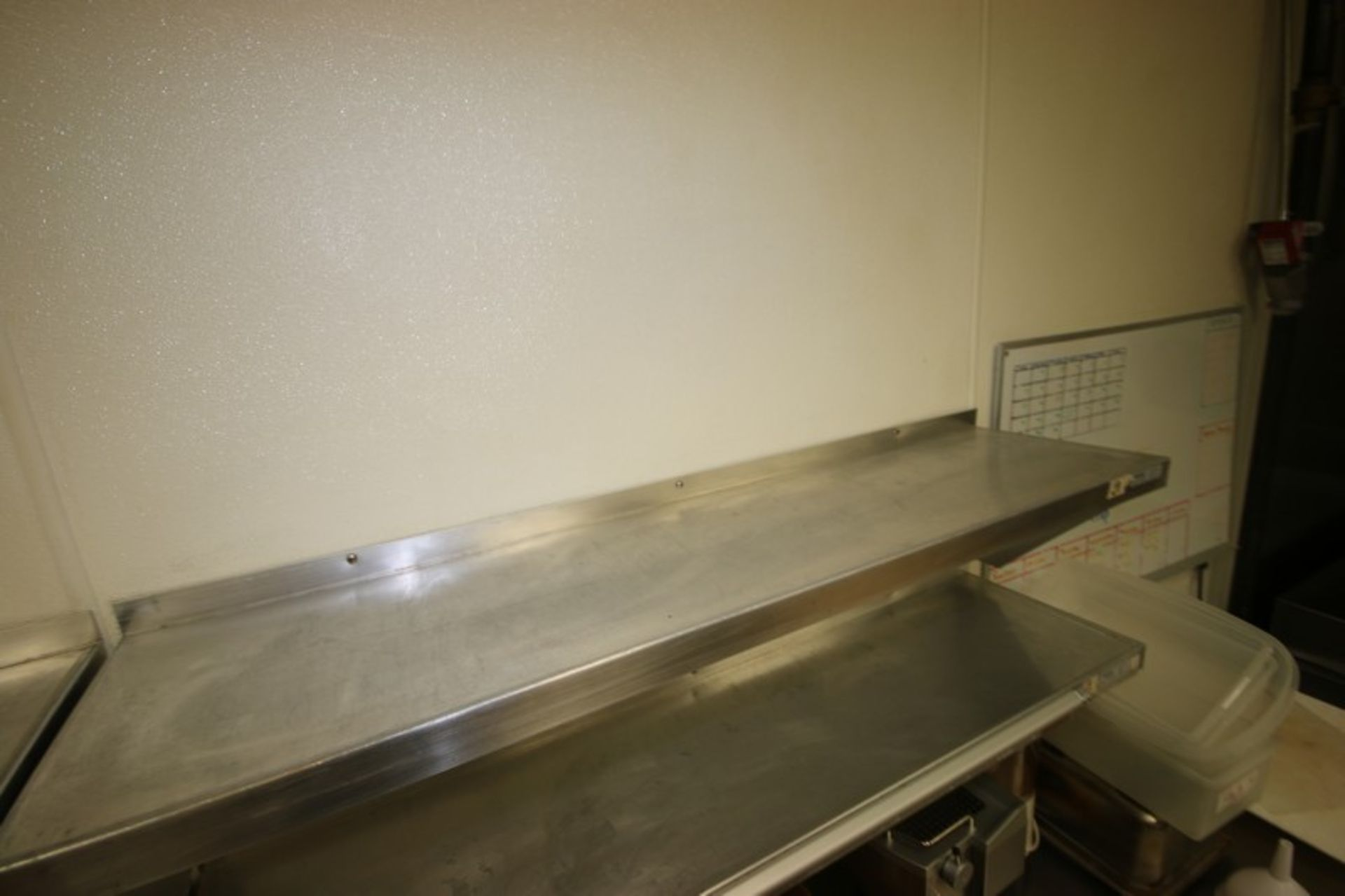 """Win-Holt S/S Shelves, Shelf Dims.: Aprox. 48"""" L x 12"""" W, Wall Mounted (Located in McMurray, PA) ( - Image 5 of 5"""