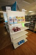 """End Shelf, with 5-Shelf Design, Overall Dims.: Aprox. 36"""" L x 18"""" W x 72"""" H (Located in McMurray,"""