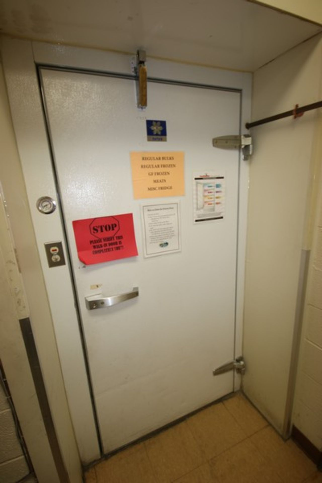 Harford Dual Compartment Walk-In Cooler & Freezer, M/N DR36788W5H8D, S/N XW703D9, Compartment Sizes: - Image 5 of 16