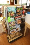 Check Out Isle Magazine Holder Stands (Locateed in McMurray, PA) (Rigging, Loading & Site Management