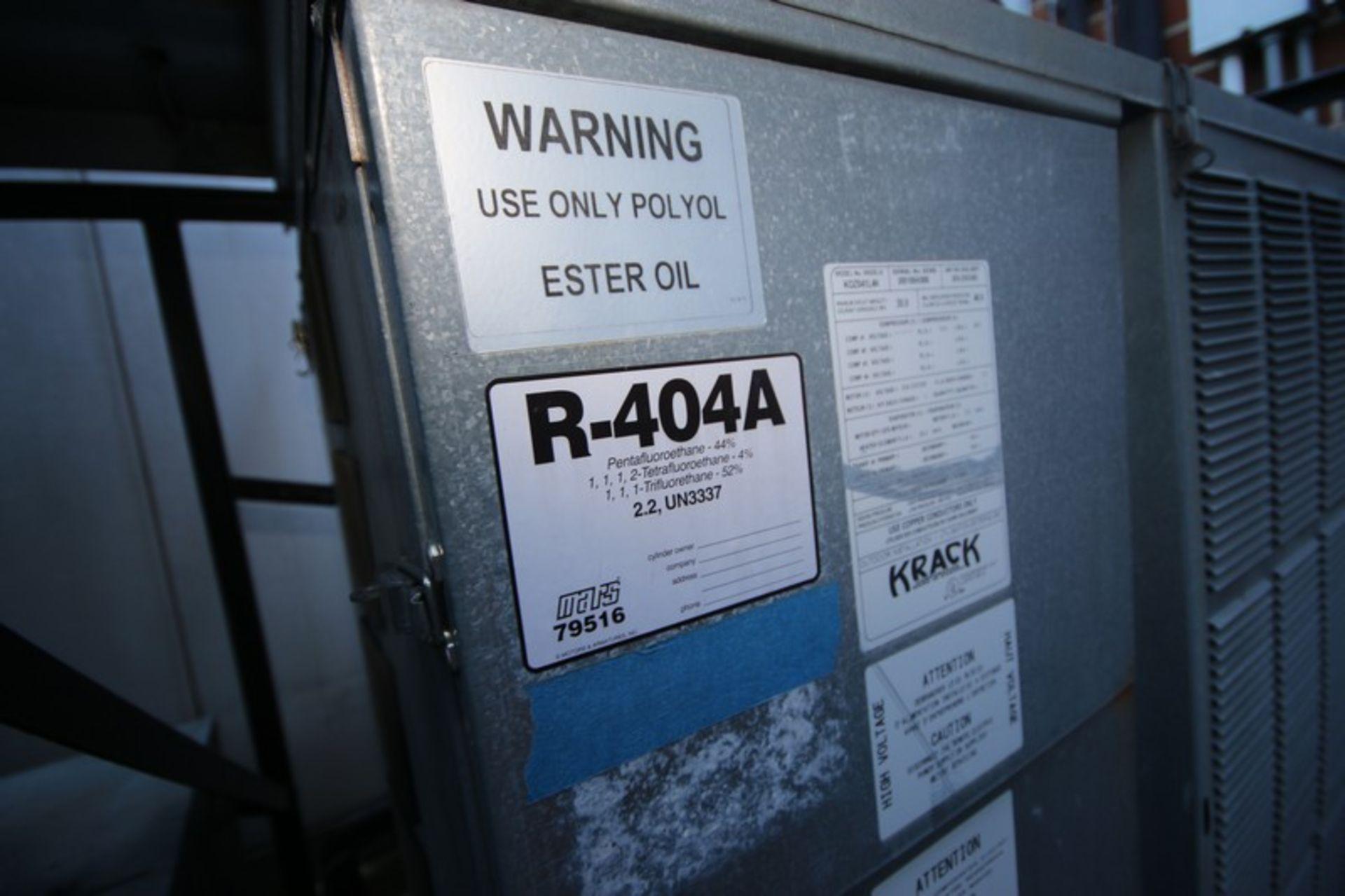 Krack Refrigeration Compressor, M/N KOZ042L4K, S/N 200109K006 with R-404A Refrigerant, 208-230/460 - Image 4 of 6