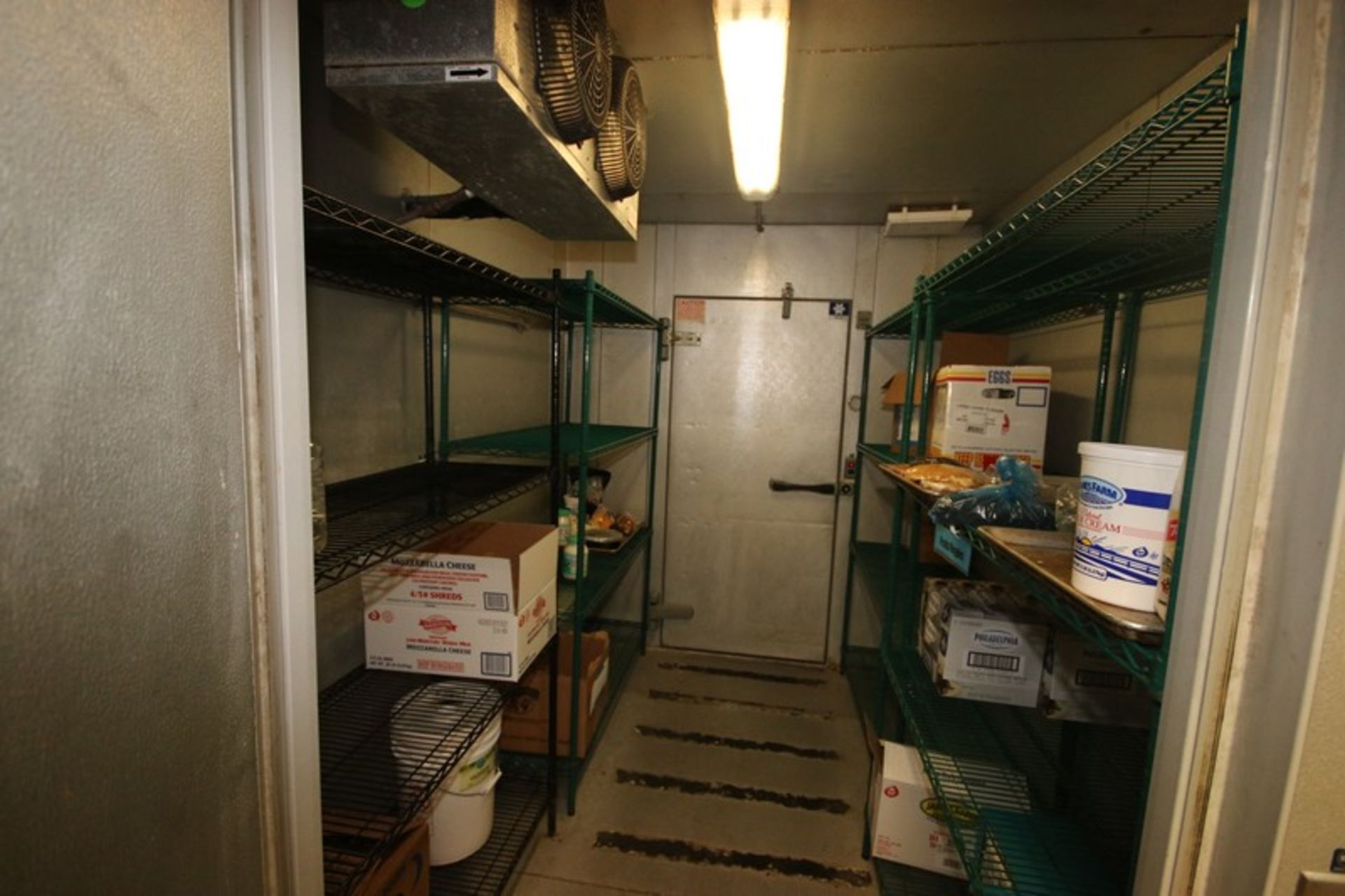 Harford Dual Compartment Walk-In Cooler & Freezer, S/N 410021576 & 410021576, Compartment Sizes: - Image 6 of 18