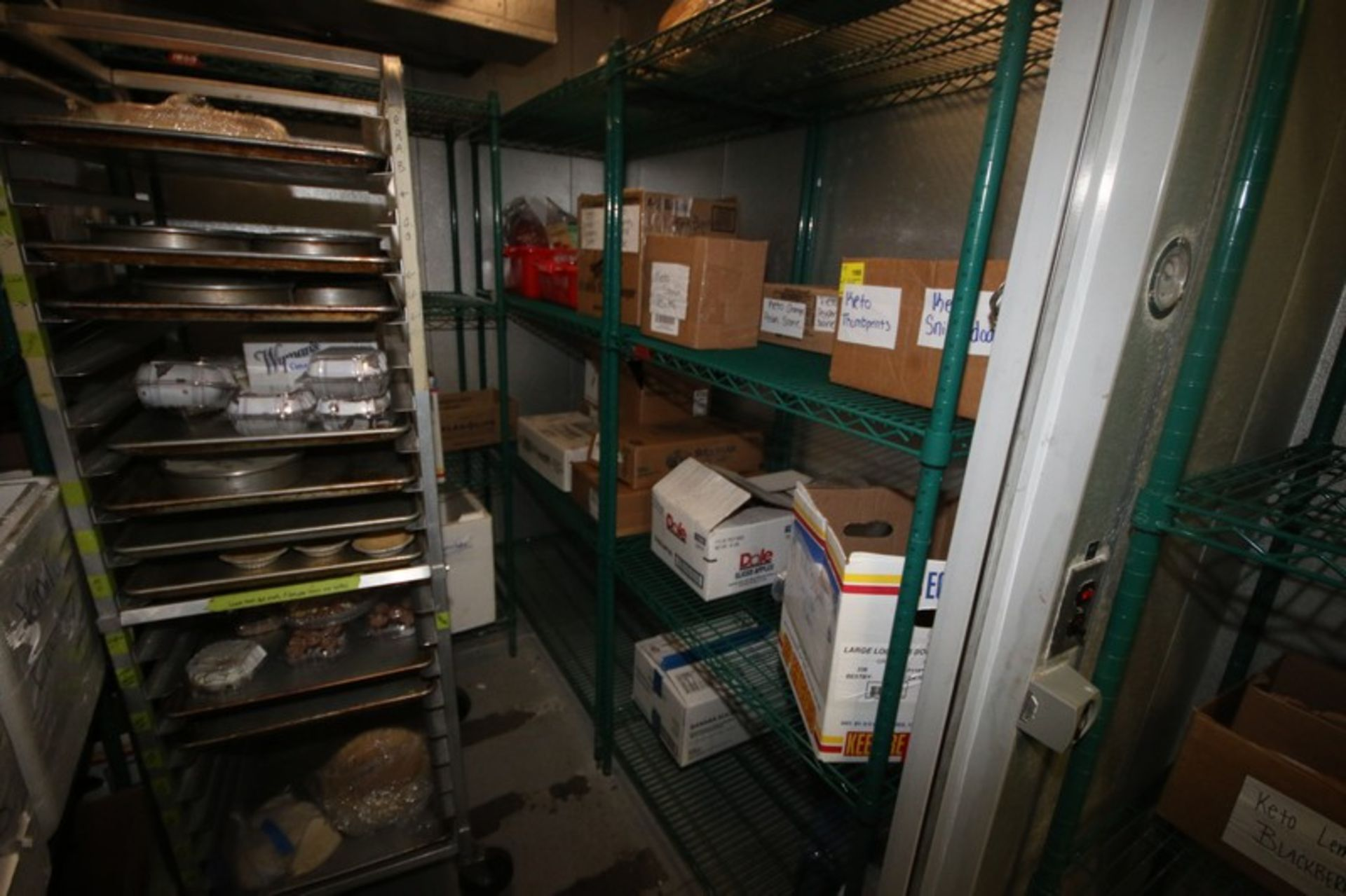 Harford Dual Compartment Walk-In Cooler & Freezer, S/N 410021576 & 410021576, Compartment Sizes: - Image 11 of 18