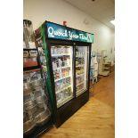 Habco Sliding Glass Refrigerator, M/N ESM42, S/N 420249330, 115 Volts, 1 Phase, Design Pressure: Low