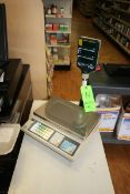 CAS S/S Platform Scale, Capacity 30 x 0.01 lb., with S/S Platform (Located in McMurray, PA) (