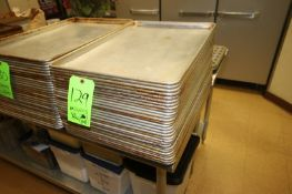 """S/S Baking Pans, Internal Dims.: Aprox. 24-1/2"""" L x 16-1/2"""" W (Located in McMurray, PA) (Rigging,"""