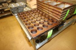 """Sets of 5 x 7 Round Pan Molds, Mold Dia. Aprox. 2-1/2"""" Dia. (Located in McMurray, PA) (Rigging,"""