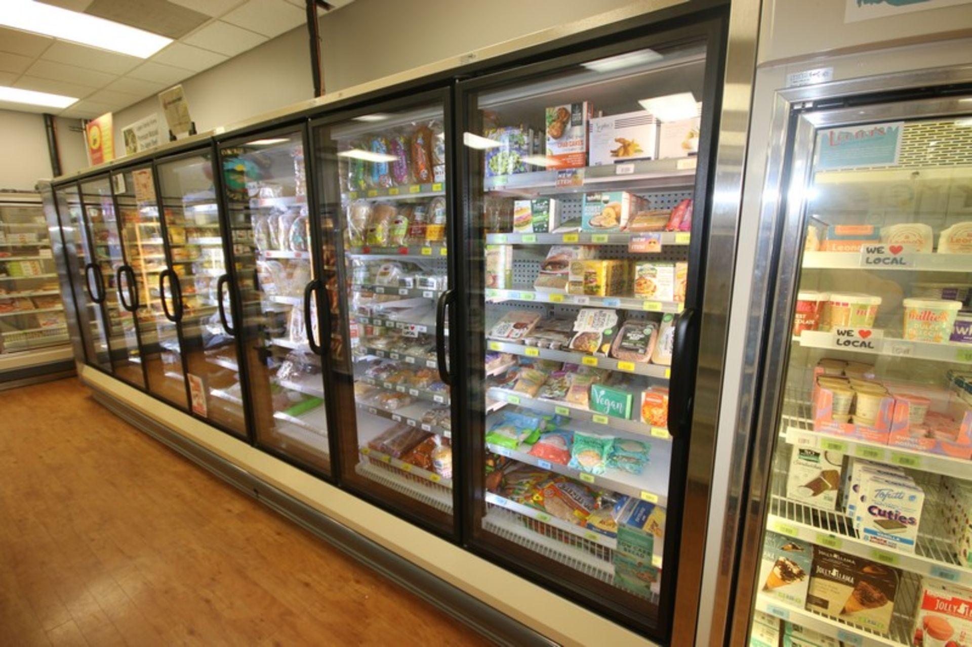 Hussman 3-Door Refrigeration Unit, M/N RLN-3, S/N MY10L391309, 120/208 Volts, R404A Refrigerant, - Image 3 of 3