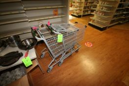 (2) Shopping Carts (Located in McMurray, PA) (Rigging, Loading & Site Management Fee: $10.00 USD)