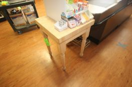 (2) Wooden Tables (Located in McMurray, PA) (Rigging, Loading & Site Management Fee: $10.00 USD)