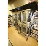 Blodgett Double Deck S/S Oven, with (3) Internal Wire Shelves In Each Compartment, Mounted on
