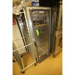 "Metro Warm Cabinet, S/N C5CM009858, Overall Dims.: Aprox. 32"" L x 27-1/2"" W x 70"" H (Located in"