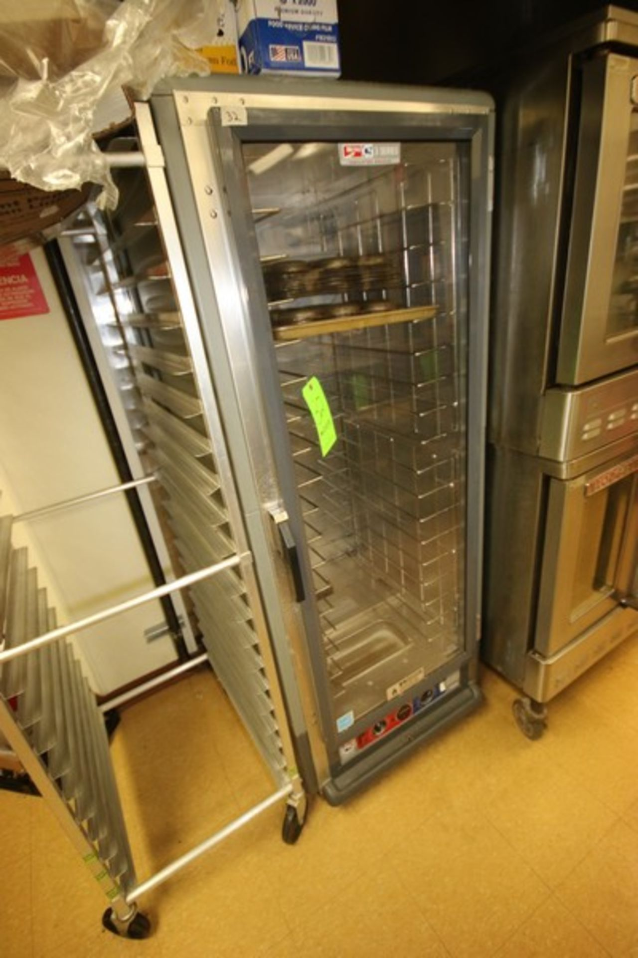 """Metro Warm Cabinet, S/N C5CM009858, Overall Dims.: Aprox. 32"""" L x 27-1/2"""" W x 70"""" H (Located in"""