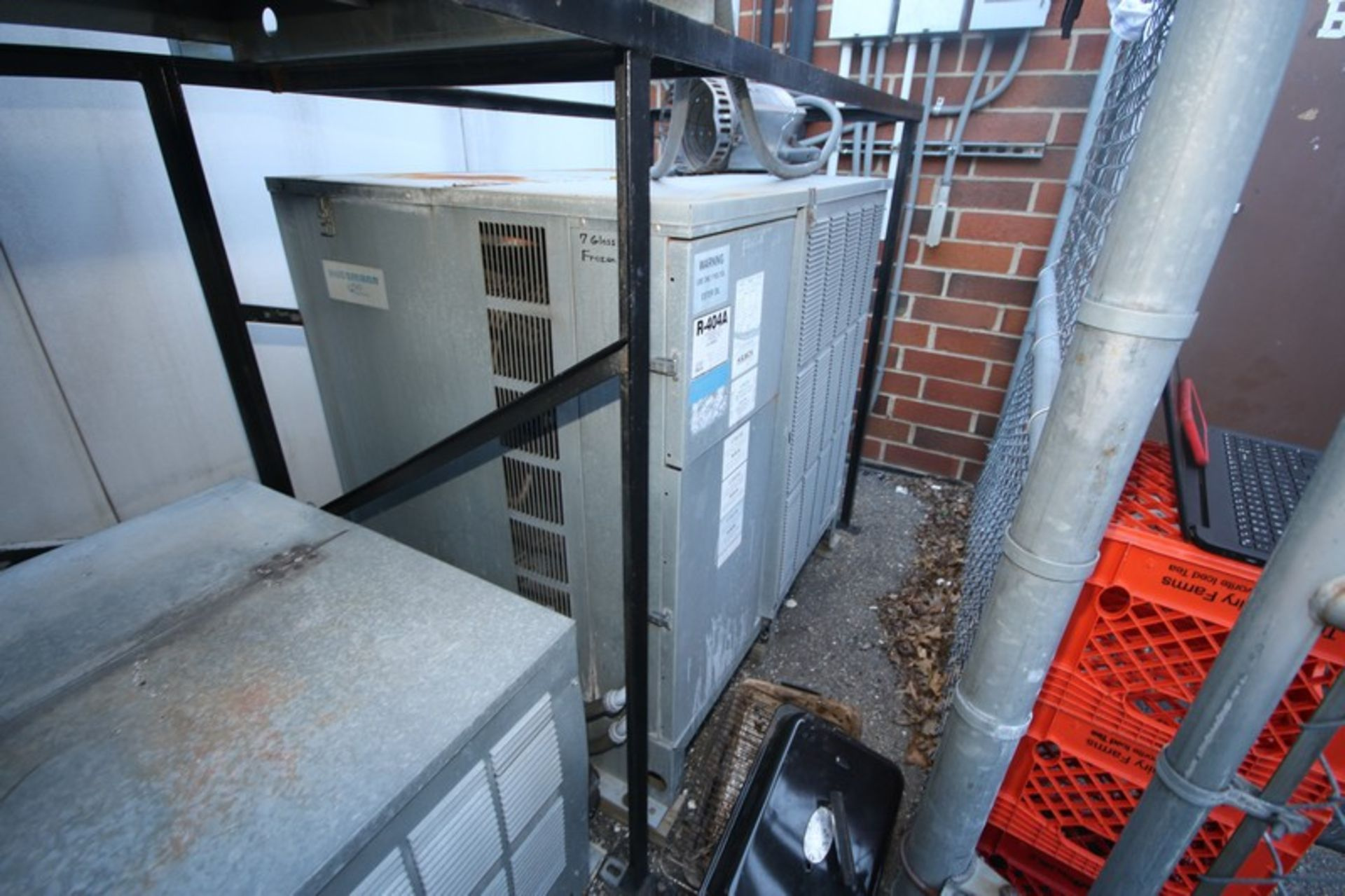 Krack Refrigeration Compressor, M/N KOZ042L4K, S/N 200109K006 with R-404A Refrigerant, 208-230/460 - Image 3 of 6