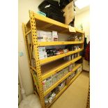 """6-Shelf Unit, with 1-Pair of Aprox. 84"""" Tall Uprights & (5) Cross Beams Aprox. 96"""" W, Overall Dims.:"""