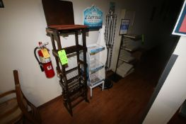 Magazine & Newspaper Display Stands, Assorted Styles & Sizes (Located in McMurray, PA) (Rigging,