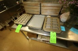 """Assorted Specialty Molds, Includes (5) Sets of 2 x 4 Square Molds, Internal Dims.: Aprox. 4"""" L x"""