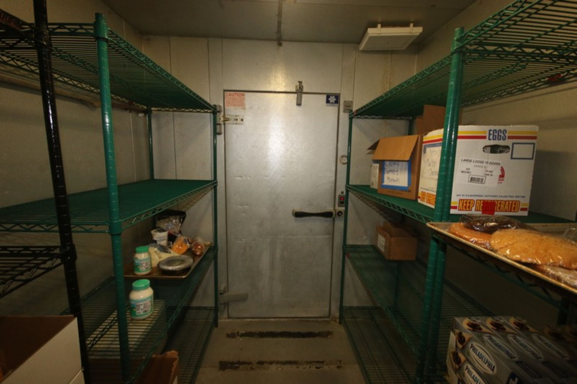 Harford Dual Compartment Walk-In Cooler & Freezer, S/N 410021576 & 410021576, Compartment Sizes: - Image 9 of 18