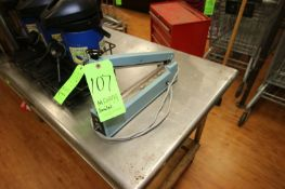 """American INT'NL Electric Sealer, Jaws Width Aprox. 12"""" W, S/N 034737j (Located in McMurray, PA) ("""