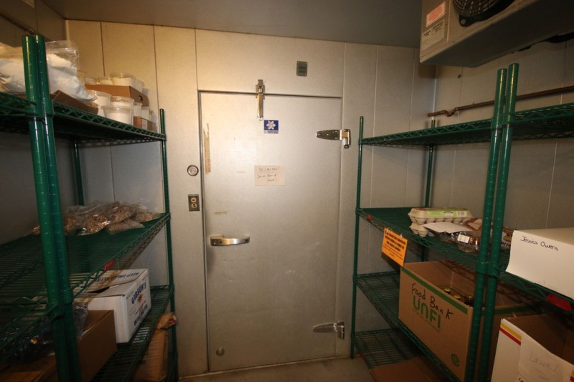 Harford Dual Compartment Walk-In Cooler & Freezer, M/N DR36788W5H8D, S/N XW703D9, Compartment Sizes: - Image 13 of 16