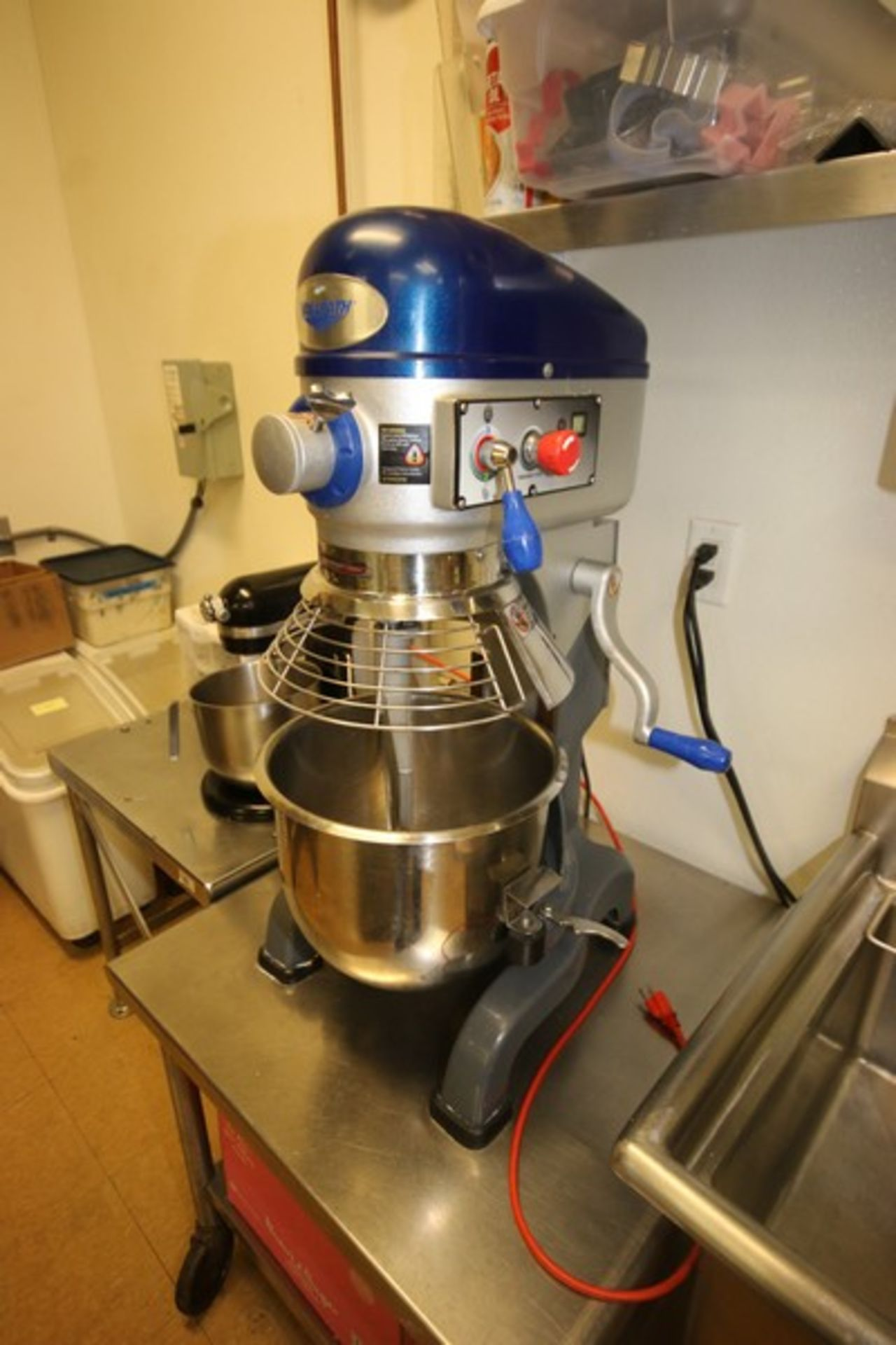 Vollrath Mixer, M/N MIX1020, S/N B42-00181983-0210, with 1/2 hp Motor, 110 Volts, 1 Phase, with S/ - Image 3 of 9