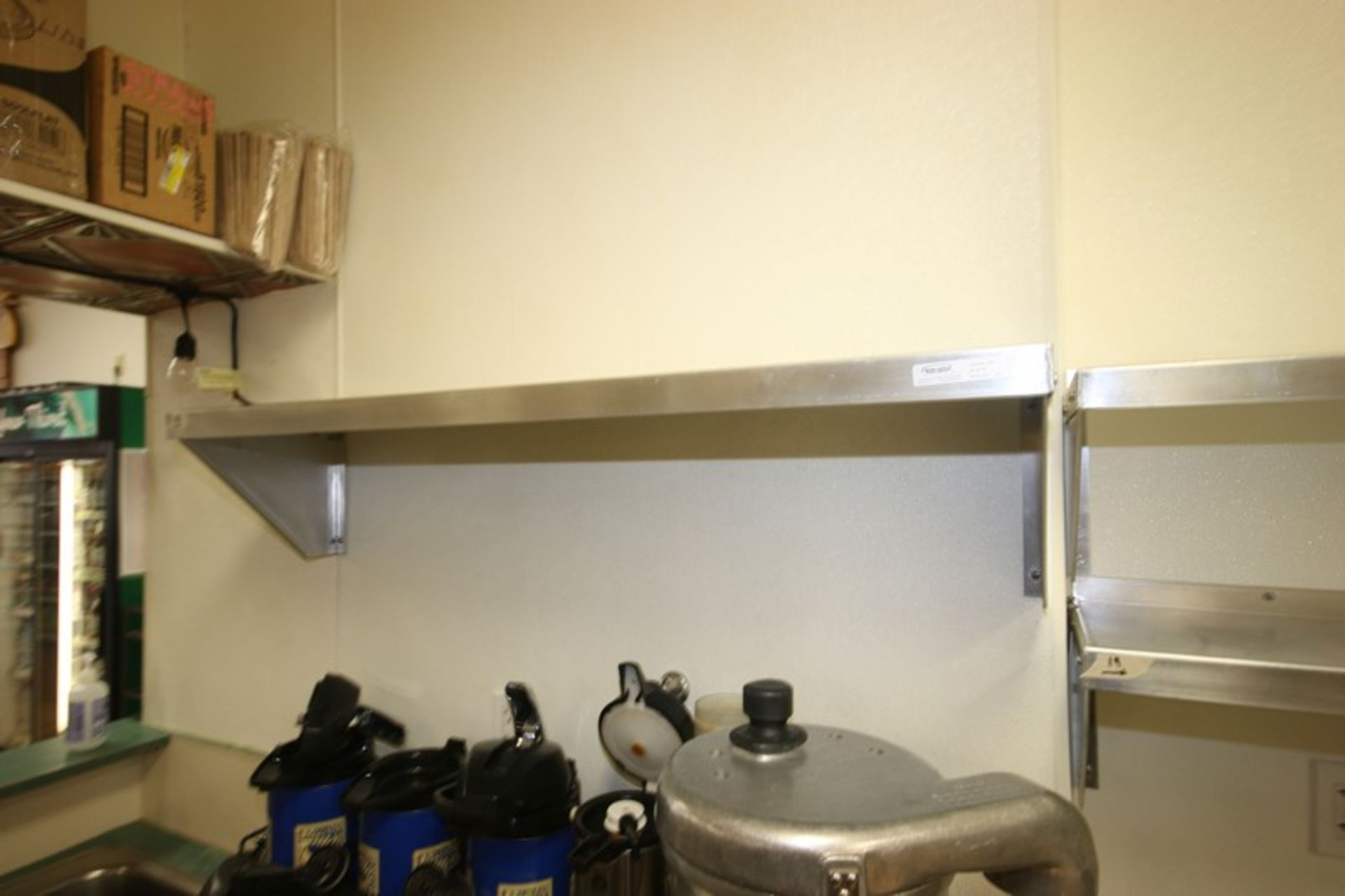 """Win-Holt S/S Shelves, Shelf Dims.: Aprox. 48"""" L x 12"""" W, Wall Mounted (Located in McMurray, PA) ( - Image 2 of 5"""