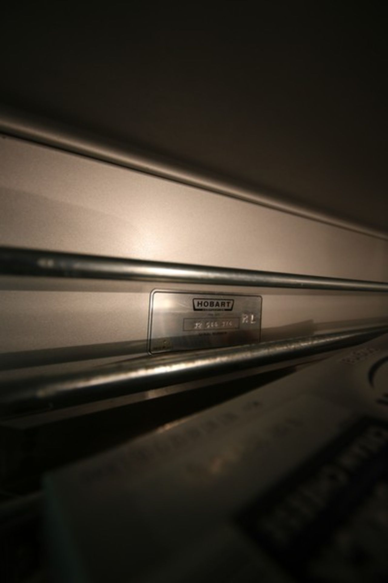 """Hobart 3-Compartment S/S Refrigerator, M/N OFR3, S/N 32 544 374, Overall Dims.: Aprox. 83"""" L x 33"""" W - Image 3 of 6"""