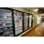 Hussman 3-Door Refrigeration Unit, M/N RLN-3, S/N MY10L391309, 120/208 Volts, R404A Refrigerant,
