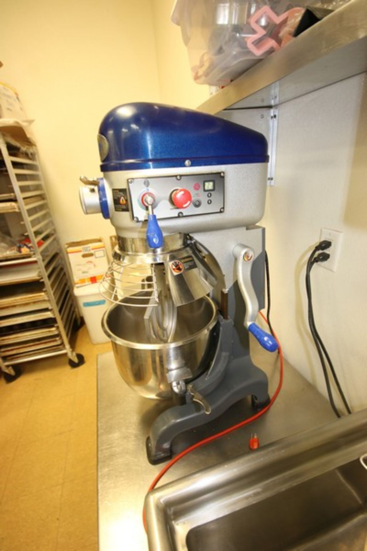 Vollrath Mixer, M/N MIX1020, S/N B42-00181983-0210, with 1/2 hp Motor, 110 Volts, 1 Phase, with S/ - Image 7 of 9