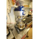 Vollrath Mixer, M/N MIX1020, S/N B42-00181983-0210, with 1/2 hp Motor, 110 Volts, 1 Phase, with S/