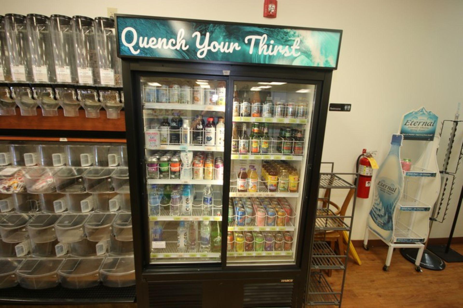 Habco Sliding Glass Refrigerator, M/N ESM42, S/N 420249330, 115 Volts, 1 Phase, Design Pressure: Low - Image 3 of 4