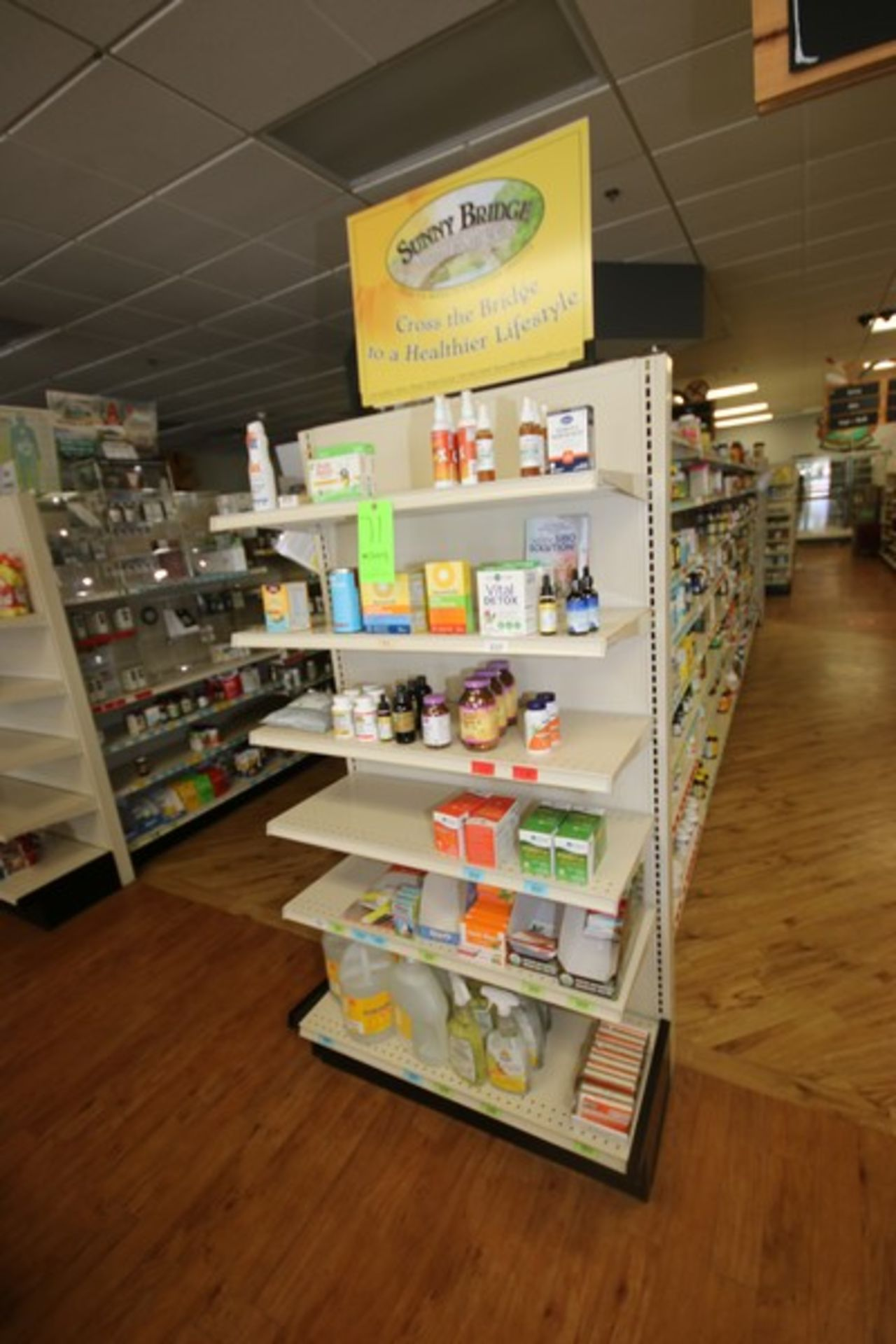 """End Shelf, with 6-Shelf Design, Overall Dims.: Aprox. 36"""" L x 18"""" W x 72"""" H (Located in McMurray, - Image 2 of 2"""