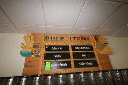 """Bulk Items Sign, Overall Dims.: Aprox. 72"""" L x 37"""" H (Located in McMurray, PA) (Rigging, Loading &"""