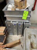 (6) VENTS/REGISTERS APPX 20'' X 20'' INTERNAL FRAME DIMENSIONS (Non-Negotiable Rigging, Packaging