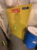 (2) 2-DOOR FLAMMABLE STORAGE CABINETS, SE-CUR-ALL & JUST RITE (Non-Negotiable Rigging, Packaging and