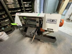WILTON BAND SAW, MODEL 7020, S/N 0305151, VARIABLE SPEED ADJUSTMENT 100FPM TO 350FPM, 1-1/2 HP