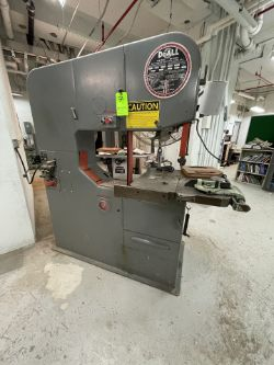 DOALL CONTOUR MACHINE/SAW, MODEL 3613-0, S/N 278-74533, INCLUDES DOALL WELDER, MODEL DBW-15, S/N