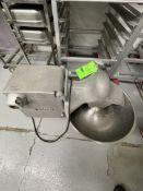 "HOBART BOWL / BUFFALO CHOPPER, MODEL 4186, S/N 56-859-965, APPROIX. 19"" W, 1 HP, 3450 RPM, 115 V,"