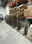 """(7) PORTABLE RACKS APPROX. OVERALL DIMS.: 28-1/2"""" W X 36-1/2"""" D X 68"""" H, INTERIOR DIMS. APPROX.:"""