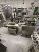 AKSAR TWIN-SCREW DOUGH DIVIDER / CHUNKER AND ROUNDER, PREVIOUSLY USED TO MAKE FALAFEL AND DOUGH