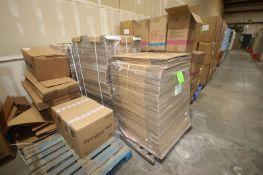 (3) Pallets of Assorted Cardboard Slip Sheet (LOCATED IN LAS VEGAS, NV)